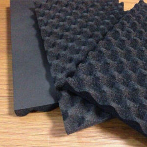 Wave Foam NBR Foam for Sound Absorber pictures & photos