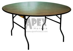 Catering Furniture-Banquet Table (AT9021W) Restaurant Furniture Folding Table pictures & photos