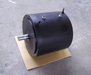Torque Motor for Rotary Machine