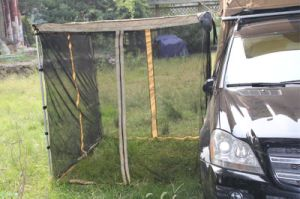 4WD Car Awning with Mosquito Net pictures & photos