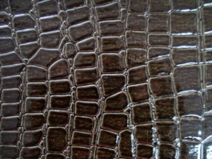 Crocodile PVC Artificial Leather for Bags pictures & photos