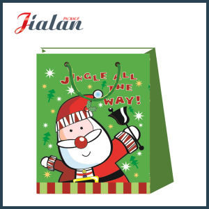 Wholesale Cute 4c Printed Christmas Gift Packing Paper Shopping Bag pictures & photos