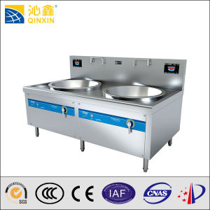 30kw Two Burner Induction Wok Stove pictures & photos