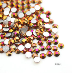 Czech Glass Beads Flat Back Crystal Sticker Jewelry Stone Loose Rhinestone (FB-ss12/3.5mm /3A grade) pictures & photos