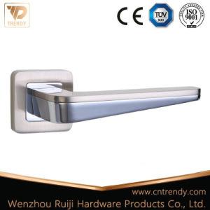 Zinc Door Hardware Smart Wooden Door Lever Handle on Rose pictures & photos