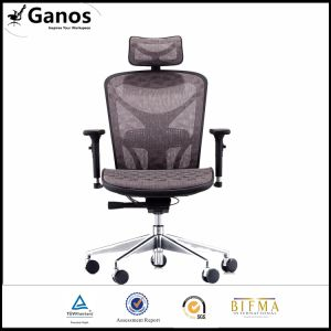 Orange Mesh Metal Office Swivel Chair pictures & photos