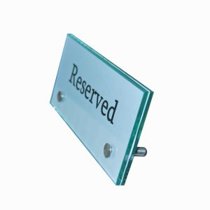 Uniquie Table Nameplate Holder--Ss-1025/Ca-0871/Ca-1085 pictures & photos