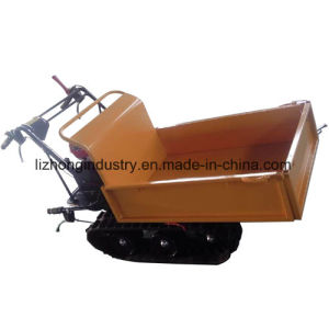 6.5HP 300kgs Manual Tipping Self-Loading Mini Dumper, Garden Mini Dumper, Manual Tipping Mini Truck Dumper pictures & photos