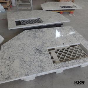 Marble Pattern Quartz Vanity Top Prefab Engineered Stone Quartz Kitchen Counter pictures & photos