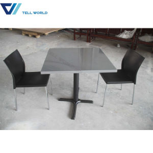 Mall Food Court Modern Cafeteria Tables and Chairs pictures & photos