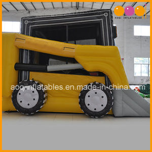 Kid Toy Tractor Inflatable Bouncer Moonwalk (AQ03107-1) pictures & photos