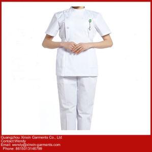 Guangzhou Factory OEM Custom Hospital Doctor Nurse Coat (H3) pictures & photos