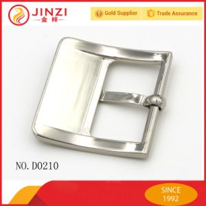 Elegant Belt Accessories Metal Adjustable Pin Belt Buckle pictures & photos