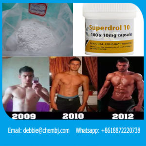 Muscle Building Steroids 17A-Methyl-Drostanolone CAS: 3381-88-2 Superdrol pictures & photos