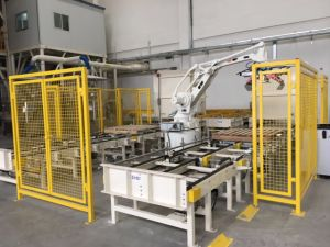 Automatic Palletizing Robot Arm Bag Palletizer pictures & photos