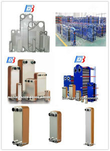 M10 Replacement Stainless Steel/Ti Plate Material Gasket Plate Type Oil Cooler Heat Exchanger Bb100/Bh100 Series pictures & photos