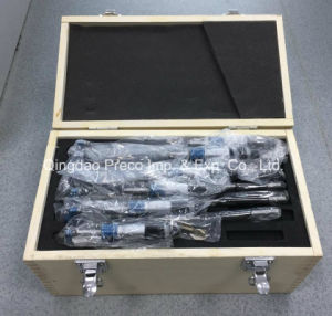 High Quality Outside Micrometers Set (0-75, 0-100, 0-150, 0-200mm) pictures & photos