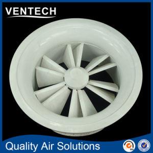 HVAC Round Shape Air Ceiling Diffuser Aluminum Swirl Diffuser pictures & photos