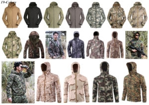 German Jungle Men Softshell V4.0 Waterproof Windproof Military Jacket pictures & photos