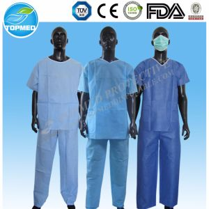 Medical Scrub Suits for Men pictures & photos