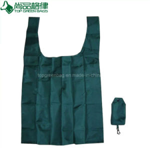Fashion T Shirt T-Shirt Vest Shape Folding Shopping Grocery Tote Bag pictures & photos