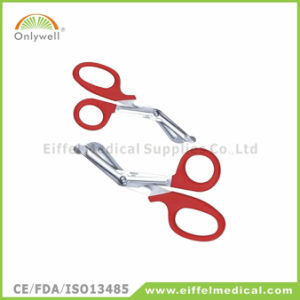 New Design Medical First Aid Gauze Bandage Scissor pictures & photos