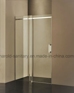 Hr-04-D Straight Single Sliding Shower Door pictures & photos