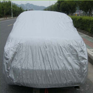 100% Polyester Silver Coated Taffeta Fabric for Car Cover Fabric pictures & photos