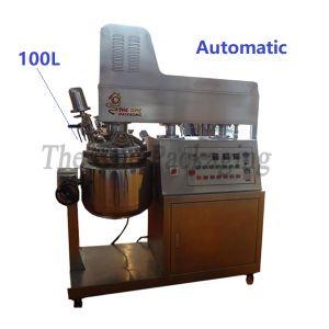 100L Cosmetics Cream Vacuum Emulsifying Blender Mixer pictures & photos