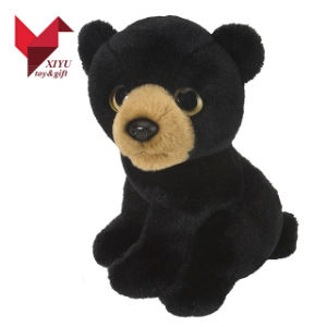 Cute Plush Toy Black Bear for Sales pictures & photos