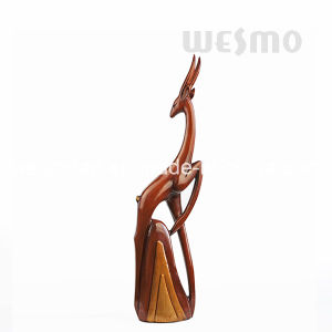 Polyresin Elegant Deer Sculptures (WTS0003A&B) pictures & photos