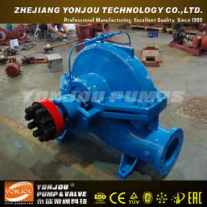 Double Suction Centrifugal Pump Mounted Trailer with Diesel Engine pictures & photos