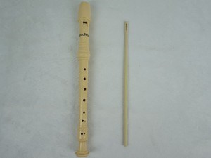8-Holes Soprano Ivory Colour Baroque Plastic Recorder pictures & photos