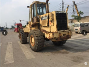Used Wheel Loader Cat 936e, Original Caterpillar Wheel Loader with Graple pictures & photos