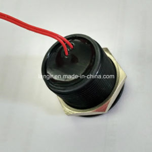 25mm IP68 Waterproof Momentary Black Piezo Switch pictures & photos