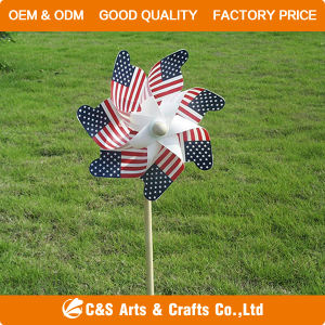Toy Decoration PVC/Polyester Garden Windmill pictures & photos