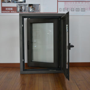 High Quality Aluminium Profile Casement Window & Casement Stainless Steel Mosquito Net K03028 pictures & photos