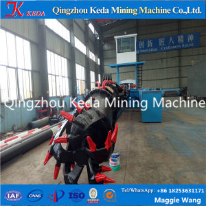 Technical River Sand Extraction Benefication Cutter Suction Dredger pictures & photos