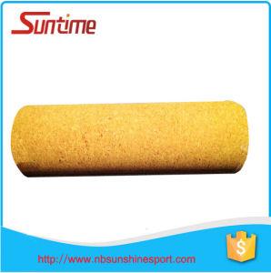 High Quality Natural Cork Massage Yoga Roller, Cork Yoga Roller