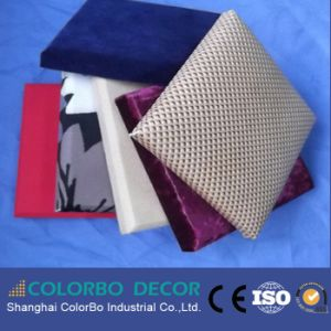 Hotel Decorative Soundproof Fabric Wall Panel Board pictures & photos