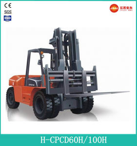 Promotion 10.0 Ton Diesel Forklift Truck with ISO