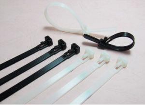 High Quality Nylon 94V-2 Cable Organizer Quick Release Cable Tie pictures & photos
