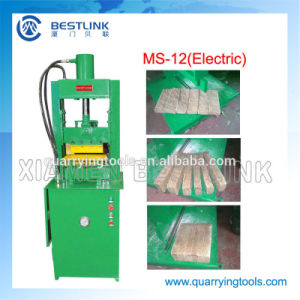 Electric Driven Hydraulic System Stone Strip Cutting Machine pictures & photos