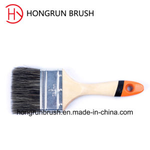 Wooden Handle Bristle Paint Brush (HYW012) pictures & photos