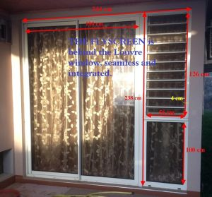 Innovatively Security Burglar Proof Aluminium Frame Jalousie Window pictures & photos