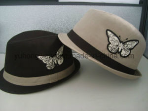 Hot Selling Gentleman Fedora Hat, Sports Baseball Cap pictures & photos