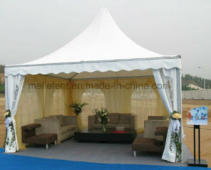4X4 Aluminum Fireproof Pagoda Tent Curtain Decoration Vendor Booth pictures & photos