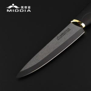 """4"""" Black Ceramic Fruit Knife From China Professional Manufactory pictures & photos"""