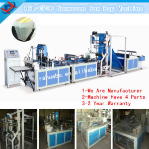 Automatic Non Woven Bag Machine Supplier pictures & photos