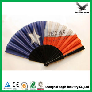 Colorful Printing Folding Plastic Hand Fan as Promotional Gift pictures & photos